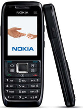 Load image into Gallery viewer, Nokia E51 Refurbished SIM Free -Black