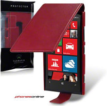 Load image into Gallery viewer, Nokia Lumia 920 Flip Case Red