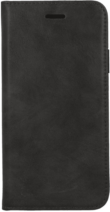 Apple iPhone SE 2 (2020) Real Leather Wallet Case - Black