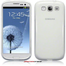 Load image into Gallery viewer, Samsung Galaxy S3 i9300 Gel Case Clear