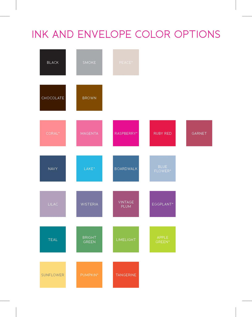 Color Block Stationery/Notepad