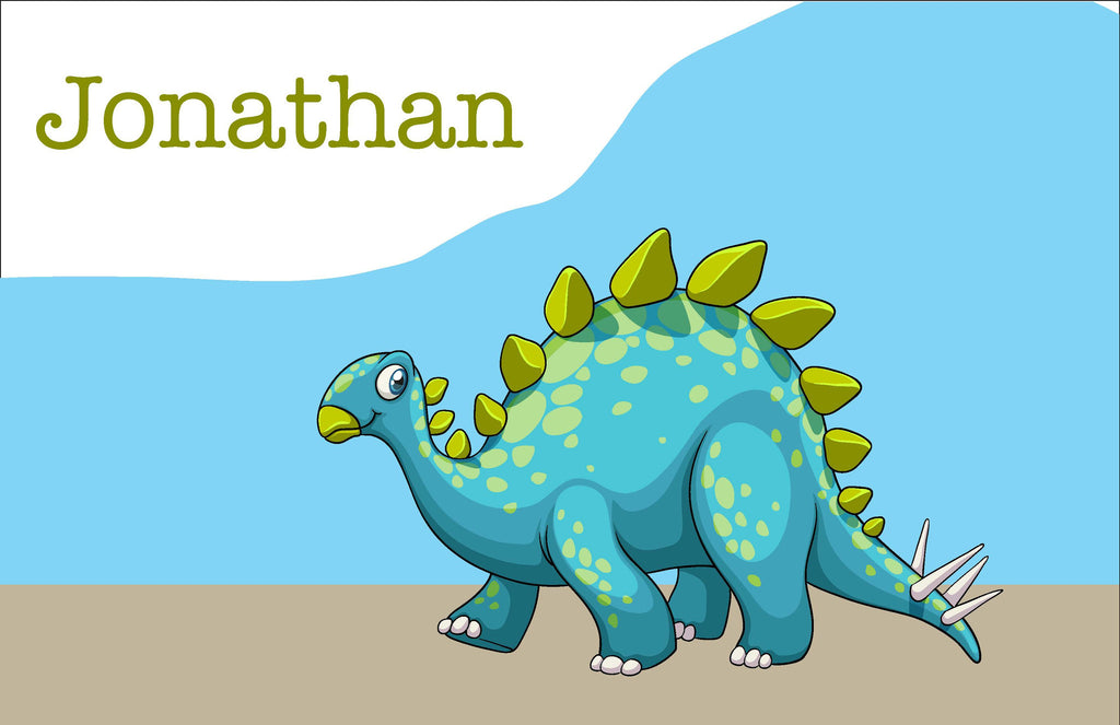 Dinosaur Personalized Kids Placemats