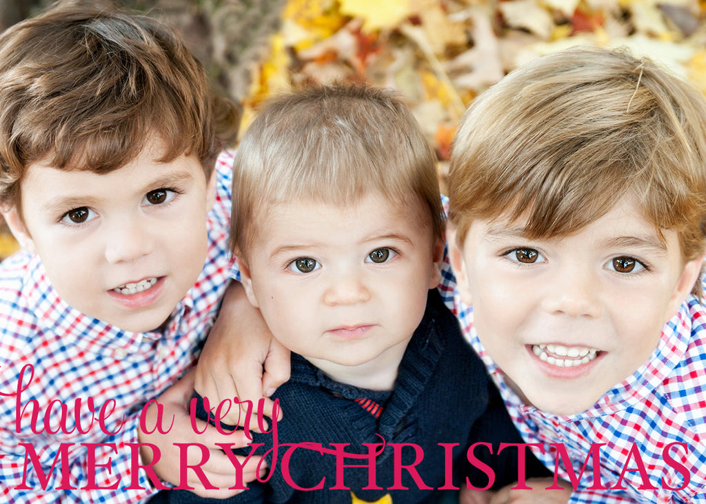 540 Have a Very Merry Christmas Photo Holiday Card