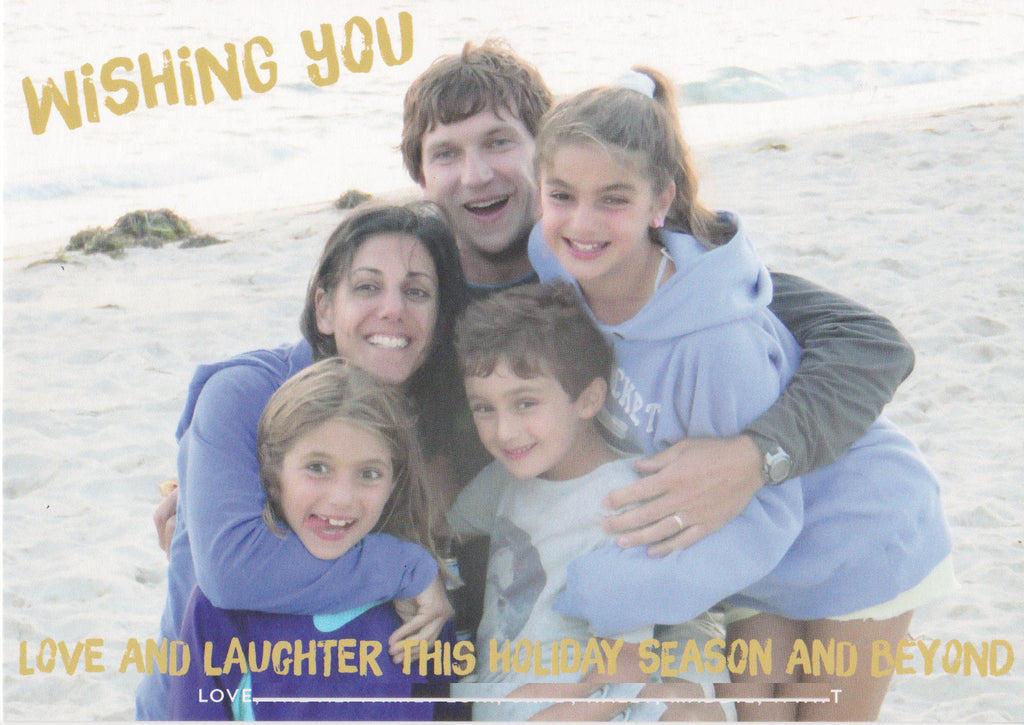 928 Wishing You Photo Holiday Card