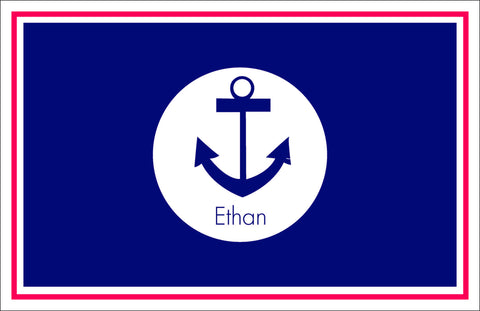 Anchor Personalized Kids Placemats