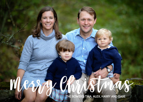 859 Christmas Photo Holiday Card