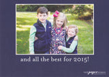 570 Warmest Wishes Holiday Card