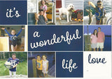 918 It's A Wonderful Life Photo Holiday Card