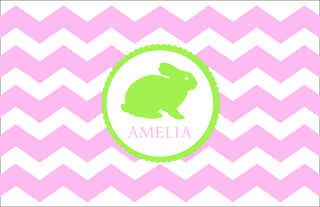 Bunny Personalized Kids Placemats