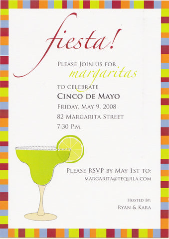 Fiesta Cocktail Party Invitation