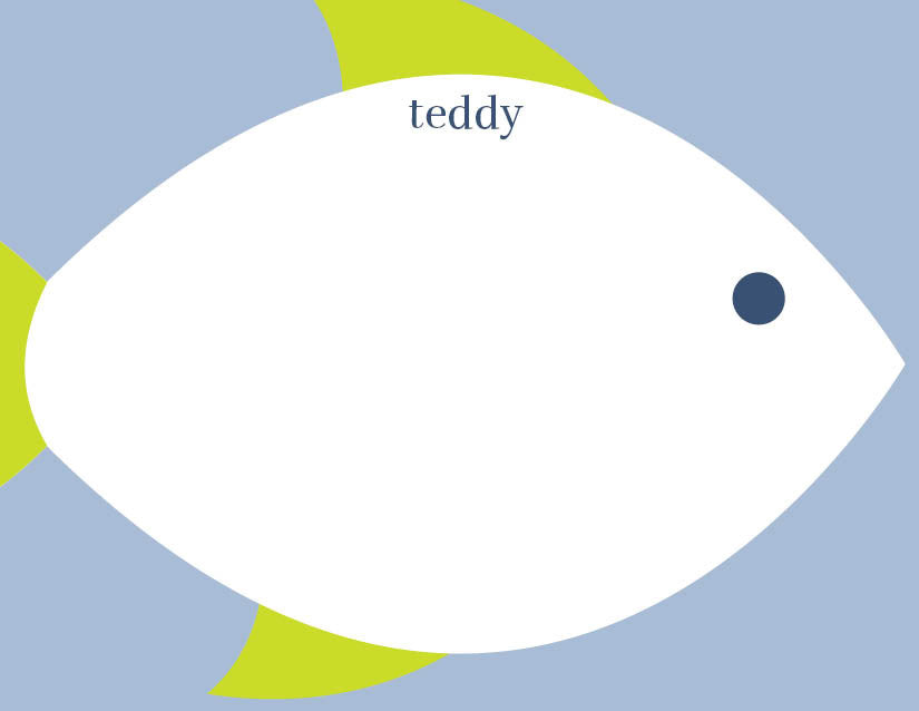 Fishy Fishy Stationery/Notepad