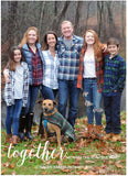 456 Together Photo Holiday Card