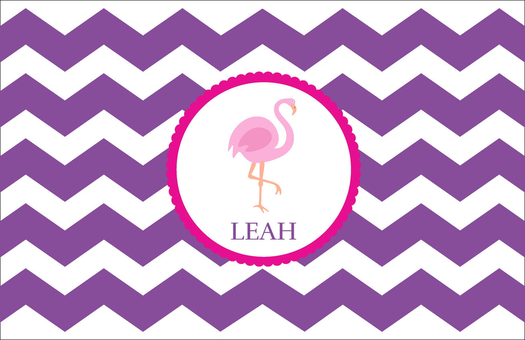 Flamingo Personalized Kids Placemats