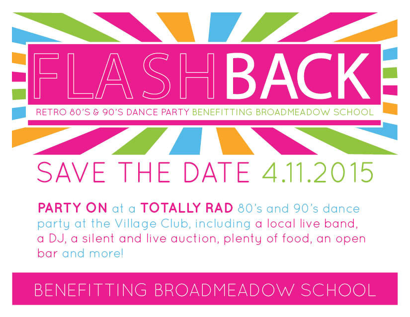 Flashback Cocktail Party Invitation