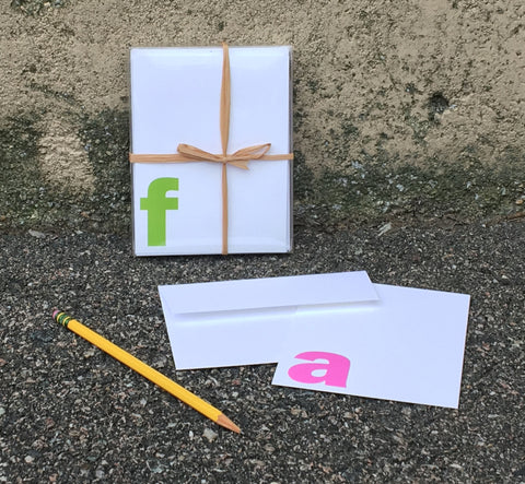 Letter Stationery Sets