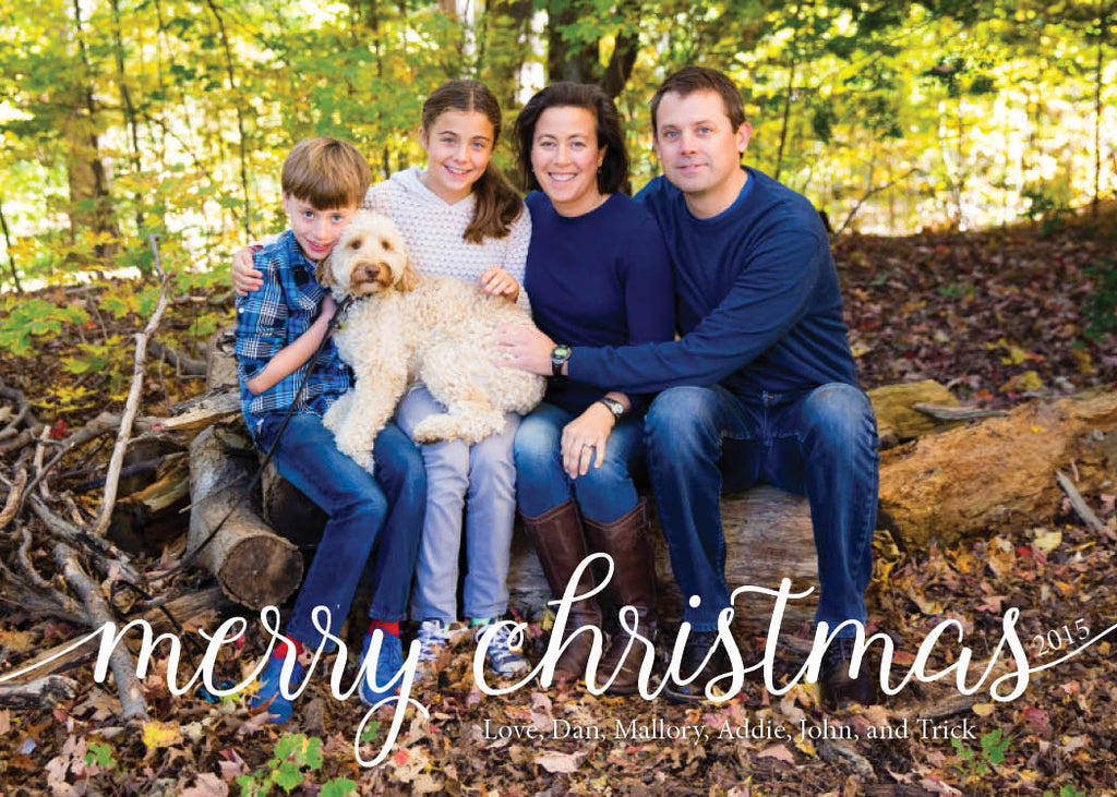 938 Merry Christmas Photo Holiday Card