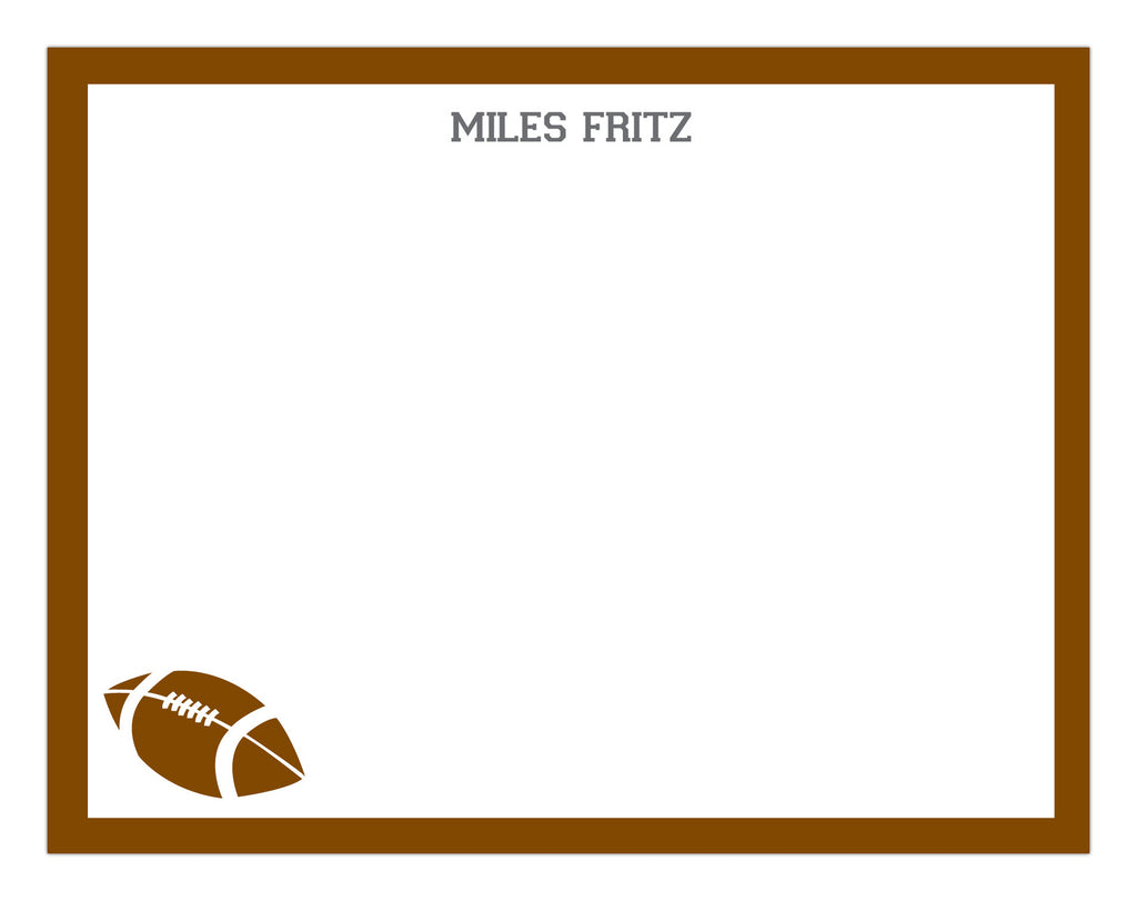 Football Border Stationery