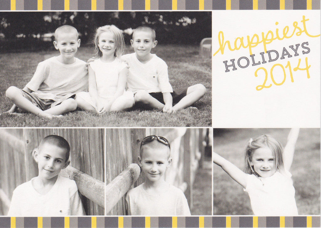 568 Happiest Holidays Photo Holiday Card