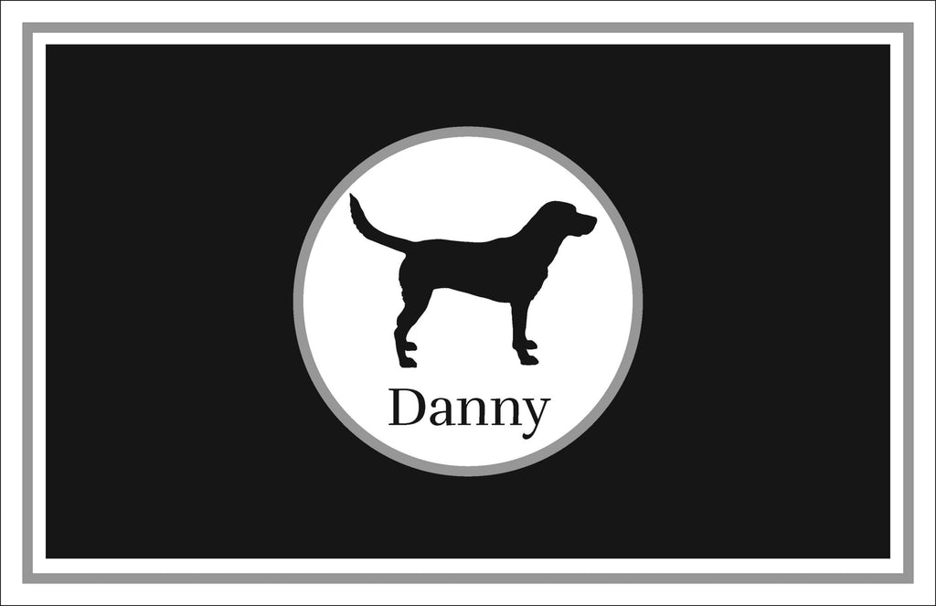 Dog Personalized Kids Placemats