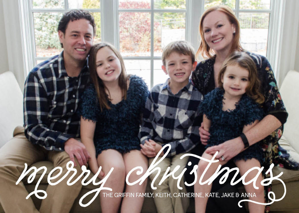 927 Merry Christmas Photo Holiday Card