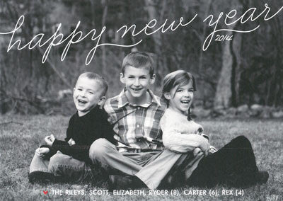 557 Happy New Year Holiday Card