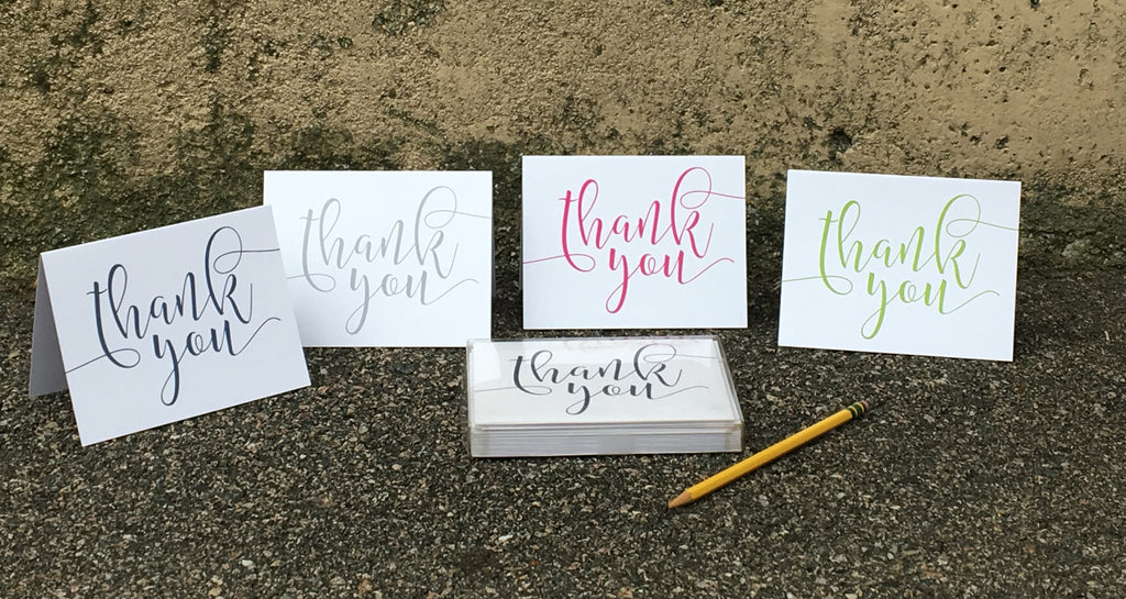 Thank You Note Stationery Set