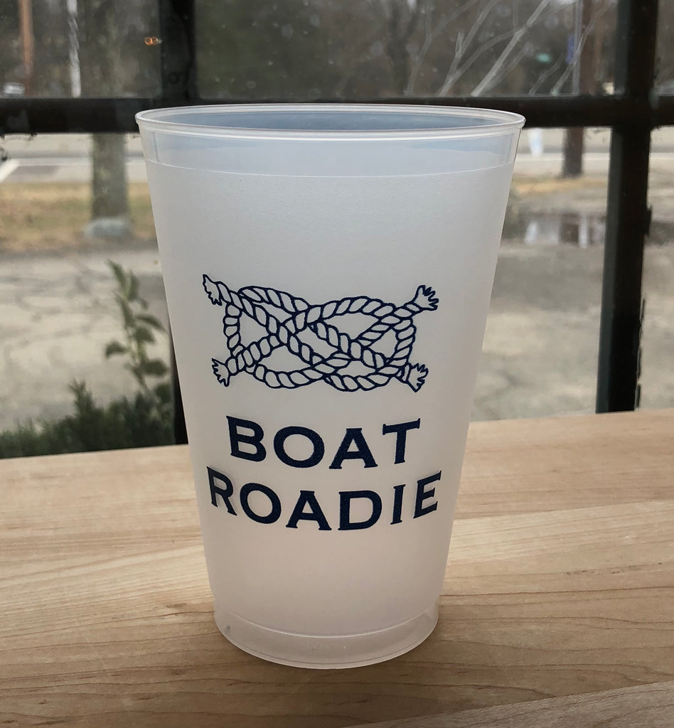 Boat Roadie Rope Frost Flex Shatterproof Cups-Set of 10