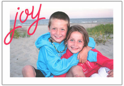 554 Joy Holiday Card