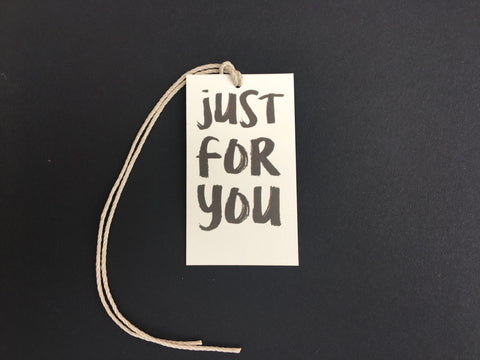 Just For You Mini Say Anything Gift/Wine Tags