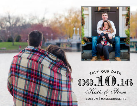Two Photo Save The Date