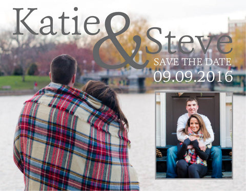 Wrapped Up Save The Date