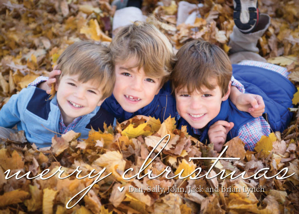929 Merry Christmas Photo Holiday Card