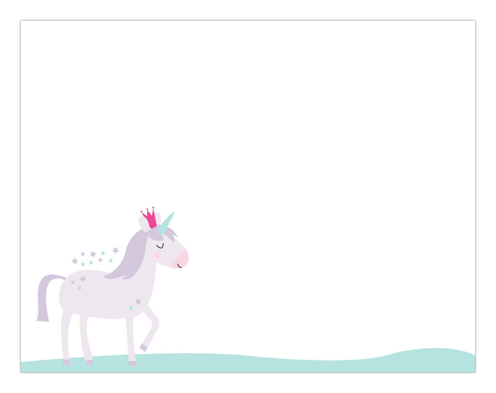 Magical Unicorn Notepad
