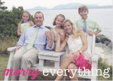 569 Merry Everything Type Photo Holiday Card