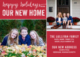 474 Happy Holidays Photo Holiday Card