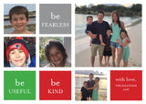 476 Be Fearless Photo Holiday Card