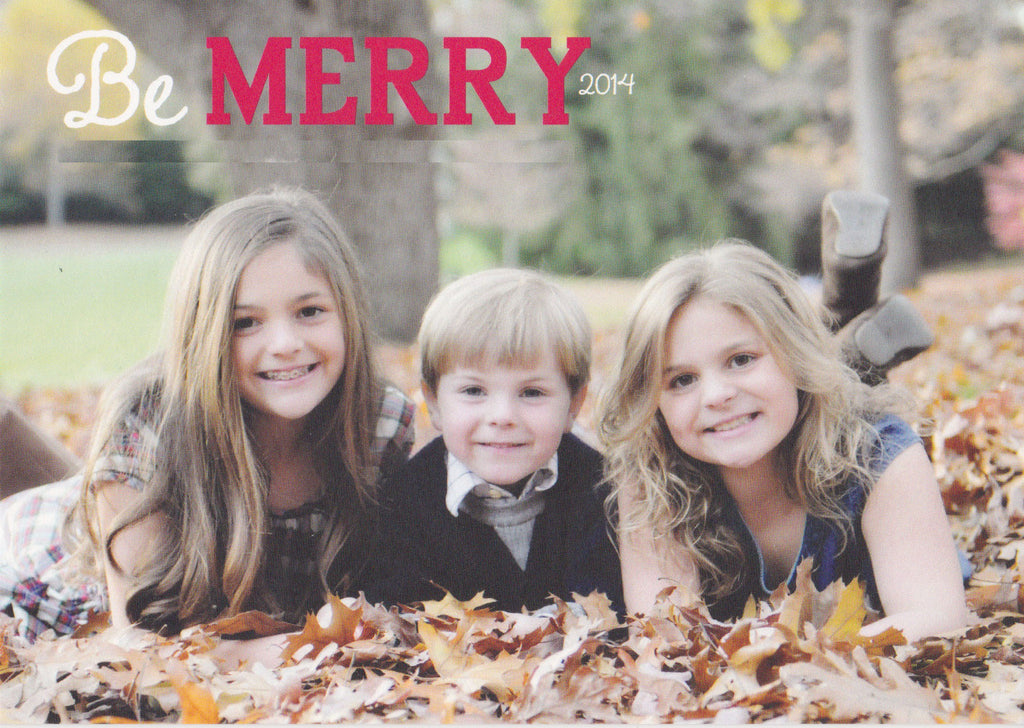922 Merry Photo Holiday Card
