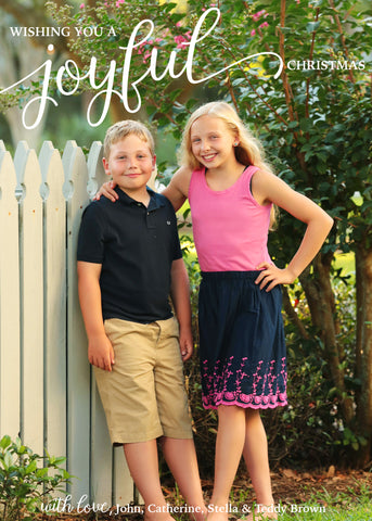 864 Joyful Photo Holiday Card