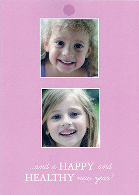 534 Wishing you Joy and Laughter Photo Holiday Card