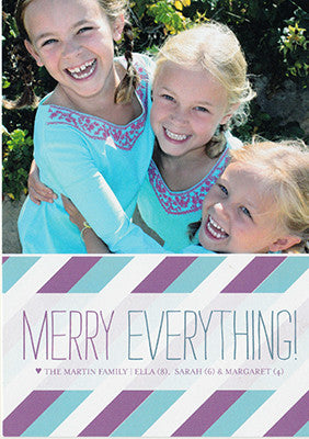 016 Merry Everything Photo Holiday Card