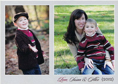 529 Sweet Custom Photo Holiday Card
