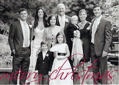 524 Photo Holiday Card