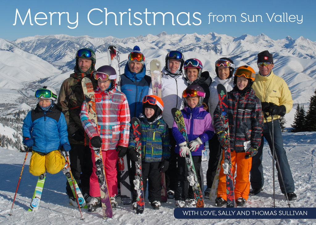 478 Sun Valley Photo Holiday Card