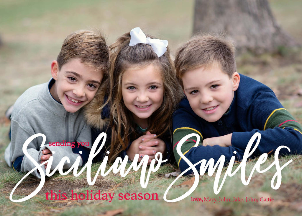 403 Smiles Photo Holiday Card