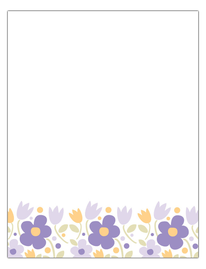 Sweet Bloom Stationery