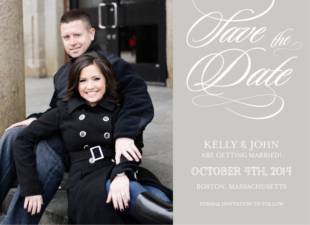 Script Photo Save The Date
