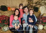 482 Merry Everything Photo Holiday Card