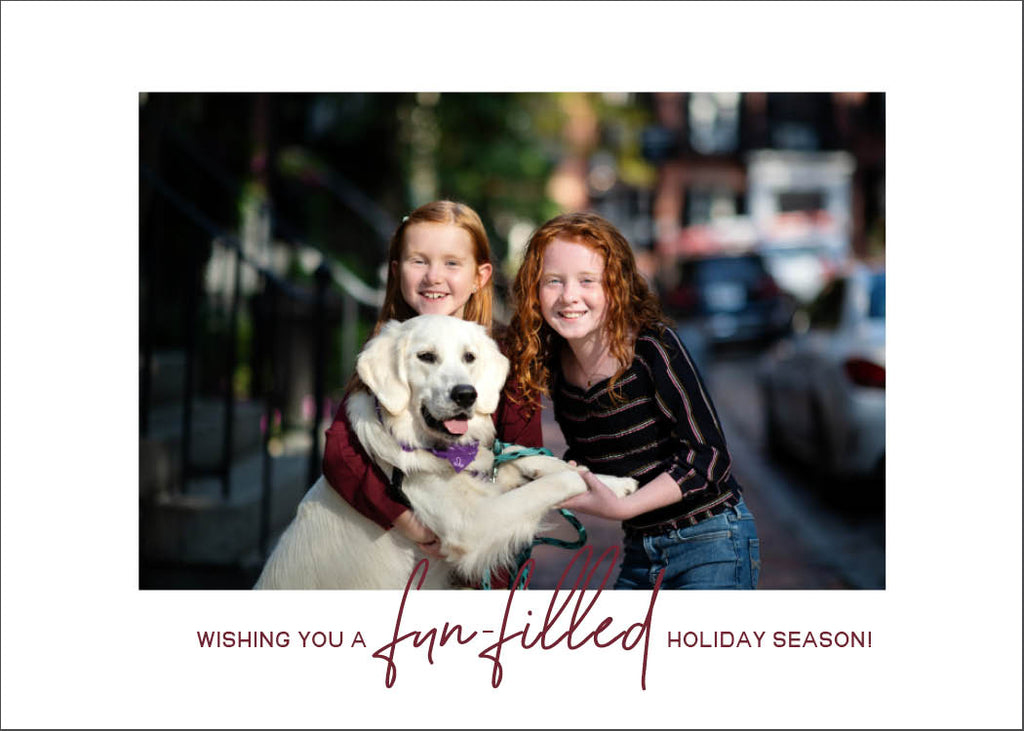 374 Happiest Holidays Photo Holiday Card