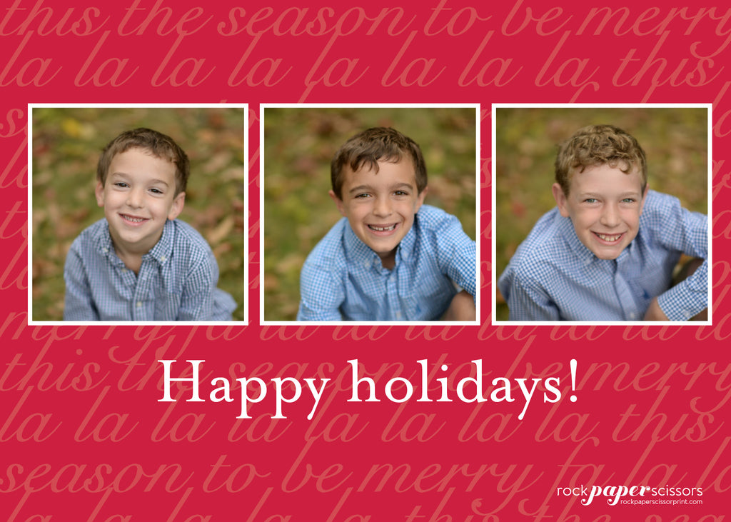 452 Warmest Wishes Photo Holiday Card