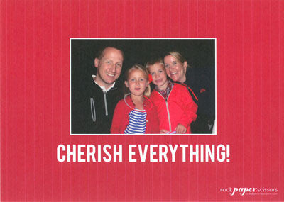 564 Merry/Cherish Everything Holiday Card
